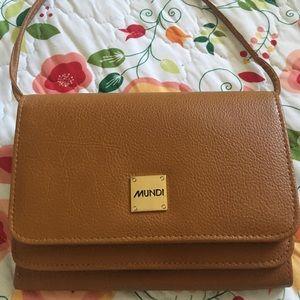 Mundi leather purse